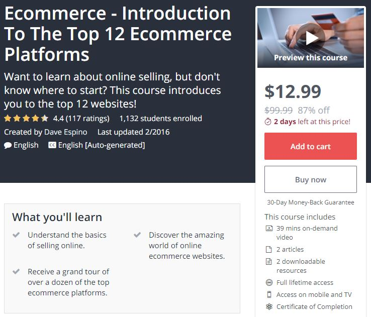 The Ultimate List of eCommerce Learning Resources 2019