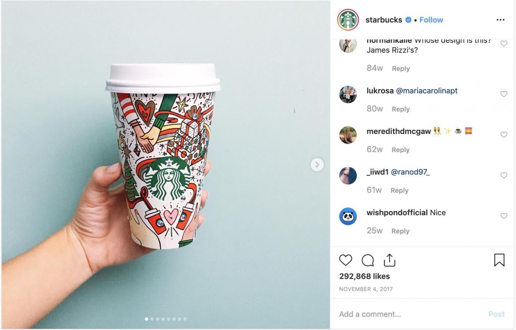 starbucks holiday design