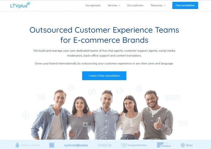 LTVplus homepage
