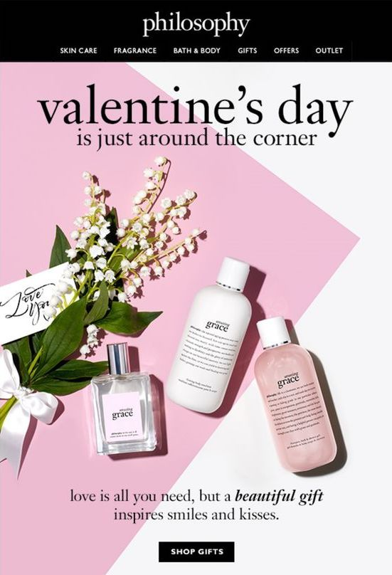 valentine's email example