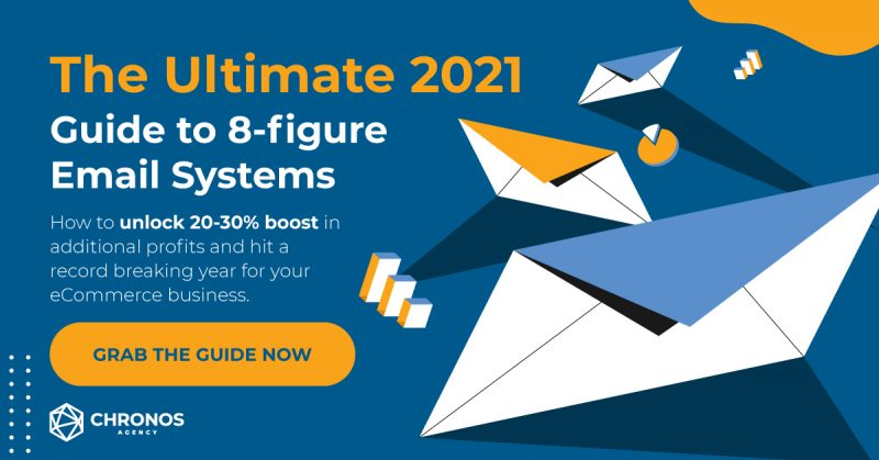 Banner about our Ultimate Guide to 8-Figure Email Systems